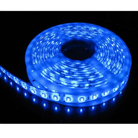 5M SINGLE COLOUR FLEXIBLE LED 5050 SMD Lights IP65 WATERPROOF GREEN BLUE RED WARM WHITE DAY WHITE